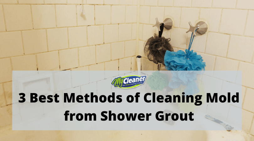 3 Best Methods of Cleaning Mold from Shower Grout